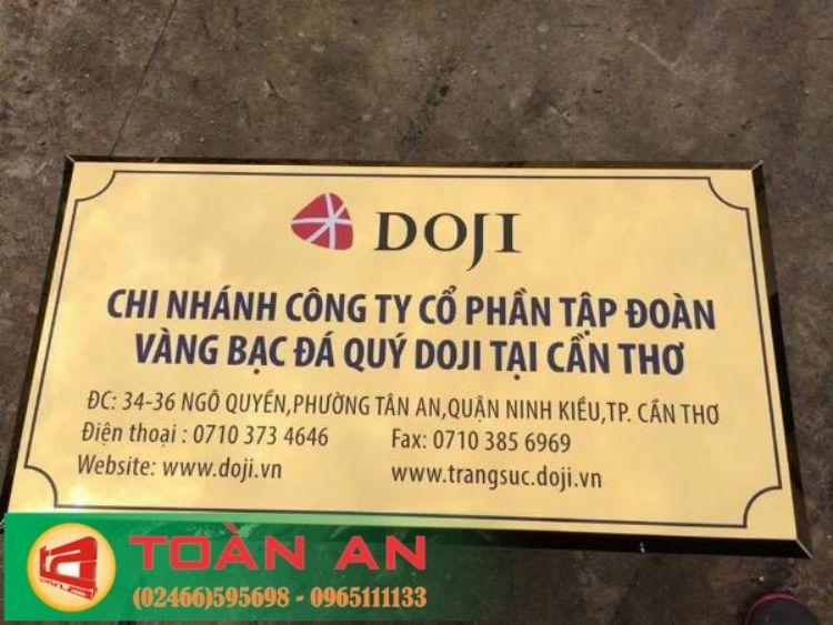 làm biển công ty tại Hà Nội